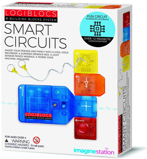 4M Logiblocs Smart Circuit, White