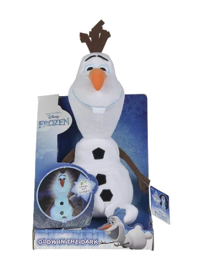 Disney Frozen - Glow In the Dark Olaf Plush Figure - ToyRoo