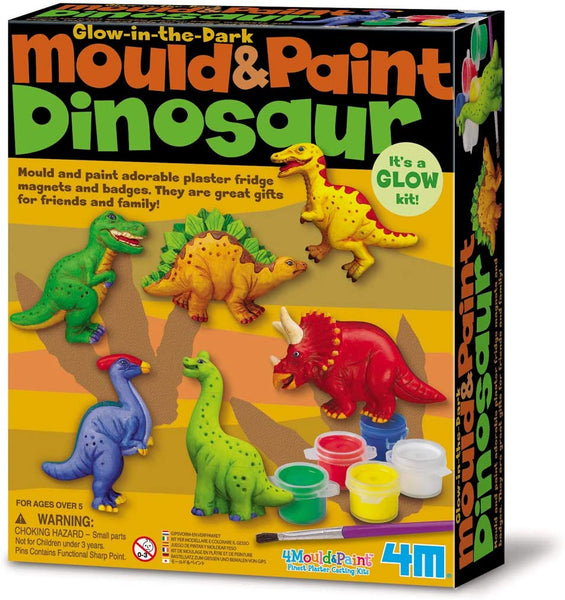 4M  Mould and Paint Dinosaur