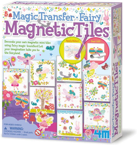 4M  Fairy Magnetic Tiles: Magic Transfer