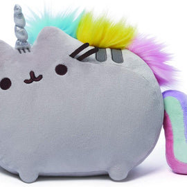 GUND Pusheenicorn Plush Stuffed Animal Rainbow Cat Unicorn, 33cm