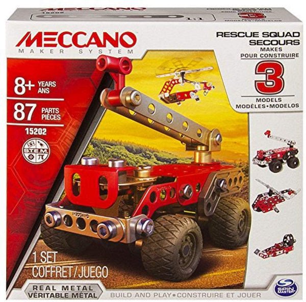 Mechano 15202 - multi-model Rescue Squad 3 model set