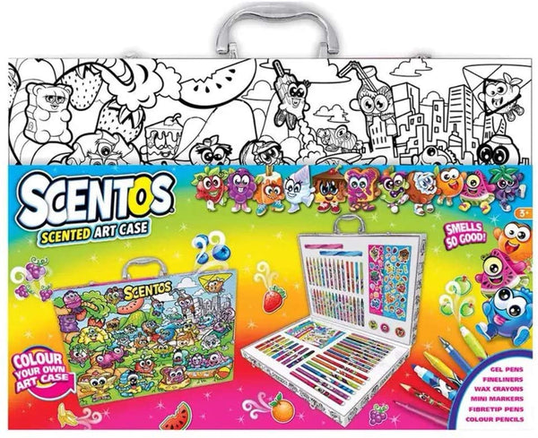 Scentos Scented Colouring Stationery Art Case