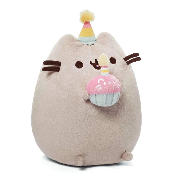 GUND Pusheen Snackables Birthday Cupcake - 26.5CM - ToyRoo