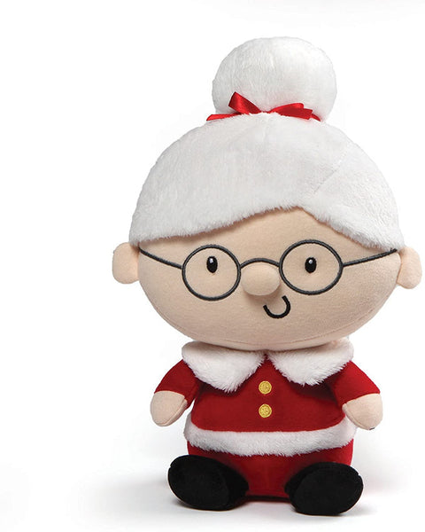 GUND Rosey Mrs. Claus Holiday Christmas Stuffed Doll Plush, Red