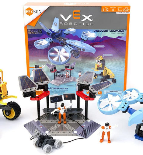 VEX Robotics Discovery Command Explorer by HEXBUG