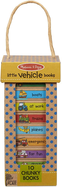 Melissa & Doug  Book Tower - Little Vehicle Books Toddler Book