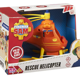 Fireman Sam - Wallaby Rescue Helicopter - Spin the Rotor Blades