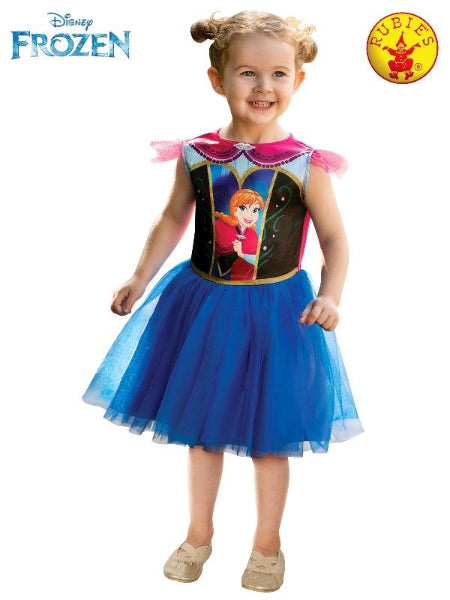 Disney Frozen - Anna Classic Costume, Child - (Size - Toddler) Licensed Costume - ToyRoo