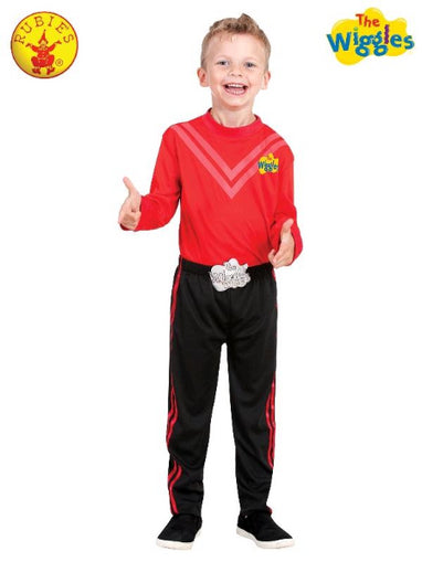 SIMON WIGGLE DELUXE COSTUME (RED), CHILD - LICENSED COSTUME - ToyRoo