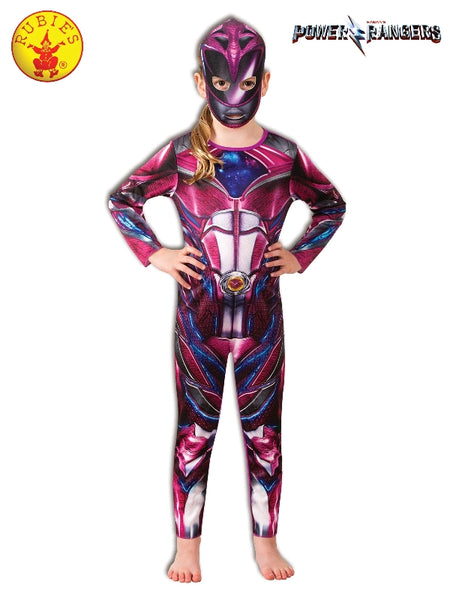 POWER RANGERS PINK CLASSIC COSTUME,  (SIZE - 6-8 YRS) - ToyRoo