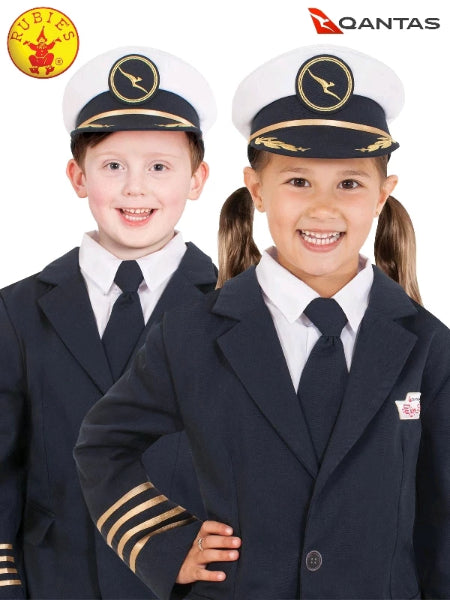QANTAS PILOT'S HAT - CHILD - LICENSED COSTUME - ToyRoo
