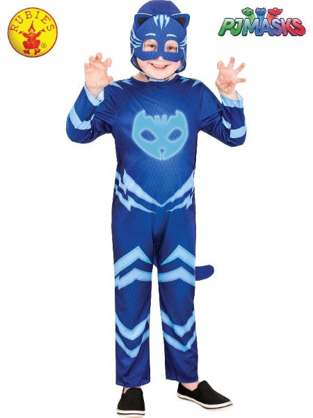 CATBOY GLOW IN THE DARK COSTUME, CHILD - (SIZE3-5)- LICENSED COSTUME - ToyRoo