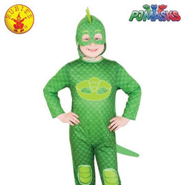 GEKKO GLOW IN THE DARK COSTUME, CHILD - (SIZE-3-5)-LICENSED COSTUME