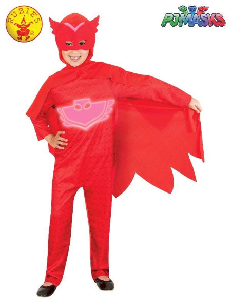 OWLETTE GLOW IN THE DARK COSTUME, CHILD - (SIZE-3-5)-LICENSED COSTUME - ToyRoo