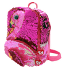 TY Gilda Reversible Sequin Square Flamingo Backpack