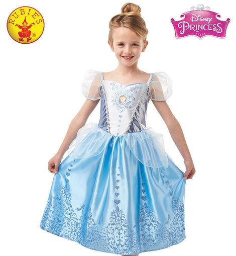 CINDERELLA GEM PRINCESS COSTUME, CHILD (4-6 yrs )