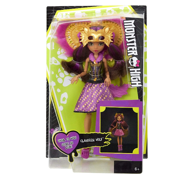 Monster High Ghoul To Wolf Clawdeen Wolf Transformation Doll - ToyRoo