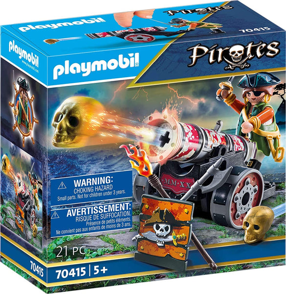 Playmobil Playmobil Pirate with Cannon Playset Pirate with Cannon - 70415