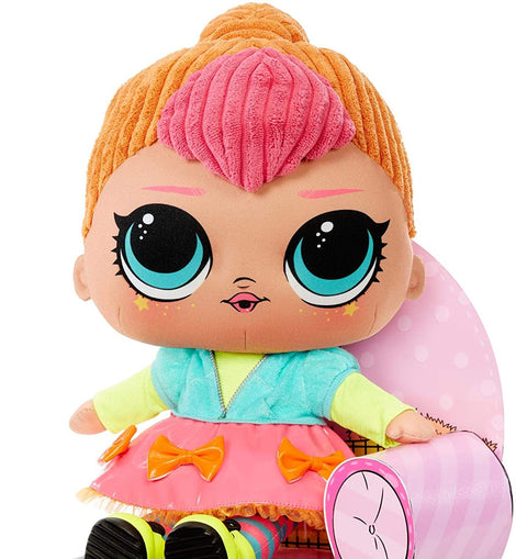L.O.L. Surprise! Neon Q.T. – Huggable, Soft Plush Doll