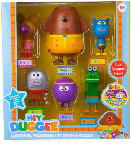 Hey Duggee Squirrel Figurine Set with Duggee
