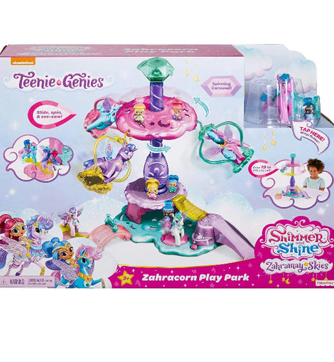 Fisher-Price Nickelodeon Shimmer & Shine, Teenie Genies, Zahracorn Play Park - ToyRoo