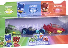 PJ MASKS DIECAST VEHICLES 3 PACK