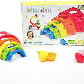 Lalaboom BL720 Toy, Multicolor - 13 pieces