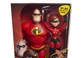 "The Incredibles 2 Power Couple, Features 12"" Mr. Incredible and Elastigirl Slingshot Figure"