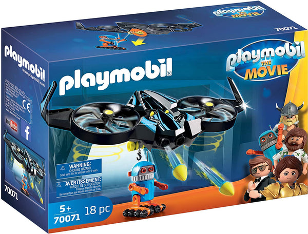 Playmobil: The Movie - Robitron with Drone 18 pc- 70071
