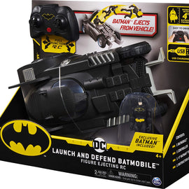 DC Launch and Defend Batmobile - Figure Ejecting RC