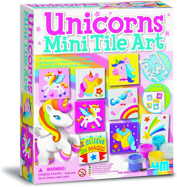 4M  Unicorns Mini Tile Art