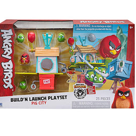 Angry Birds Build N' Launch Playset: Pig City