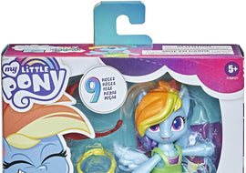 My Little Pony Smashin' Fashion Rainbow Dash Set -- 3-Inch Poseable Figure
