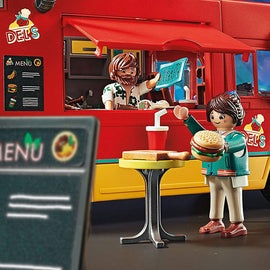 Playmobil: The Movie - Del's Food Truck 110 pc - 70075
