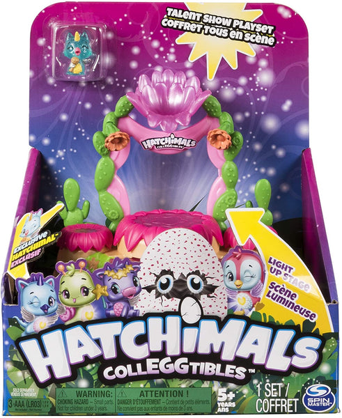 Hatchimals Colleggtibles Series 4 Shimmering Sands Talent Show Playset