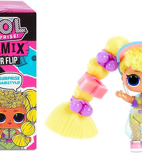 L.O.L. Surprise! Remix Hair Flip Dolls – 15 Surprises with Hair Reveal & Music