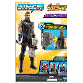 Marvel AVENGERS - Thor - Titan Hero Power FX Action Figure - Kids Super Hero Toys