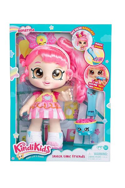 "Shopkins Kindi Kids Snack Time Friends, Pre-School 10"" Doll - Donatina - ToyRoo"