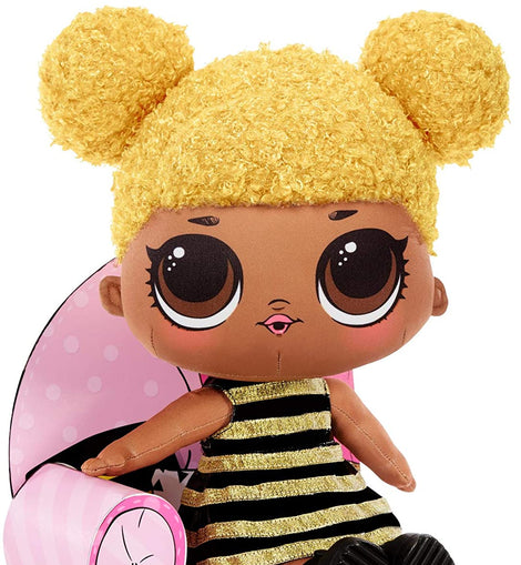 L.O.L. Surprise! Queen Bee – Huggable, Soft Plush Doll