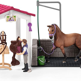 Schleich Wash Area with Horse Stall - 42404