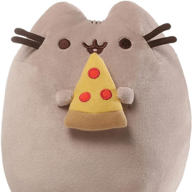GUND Pusheen Snackables Pizza Plush Stuffed Animal Cat, 24cm