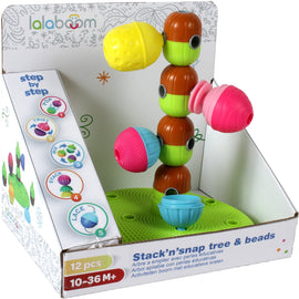 lalaboom Stacking Tree and 12 Pieces