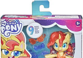 My Little Pony Smashin' Fashion Sunset Shimmer Set -3-Inch Poseable Figure