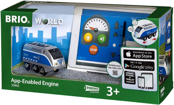 BRIO 33863 App-Enabled Engine with Control Train