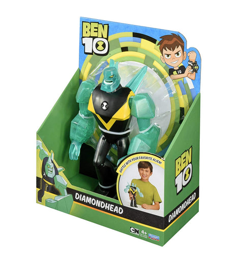 Ben 10 Giant Action Figure Battle Kids Toy 10inch - Diamondhead - ToyRoo