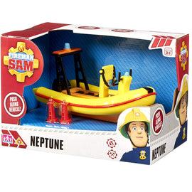 Fireman Sam Mountain Rescue Neptune Rescue Boat - Push Along Vehicle
