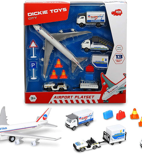 DICKIE TOYS Airport Playset, White