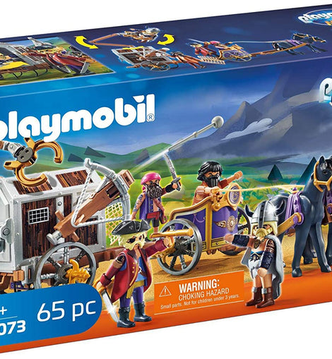 Playmobil The Movie Charlie with Prison Wagon 65 pc - 70073