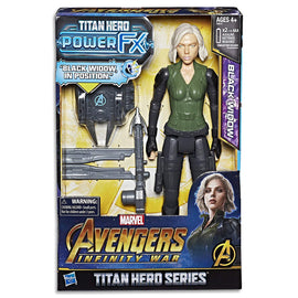 Marvel AVENGERS - Black Widow - Titan Hero Power FX Action Figure - Kids Super Hero Toys